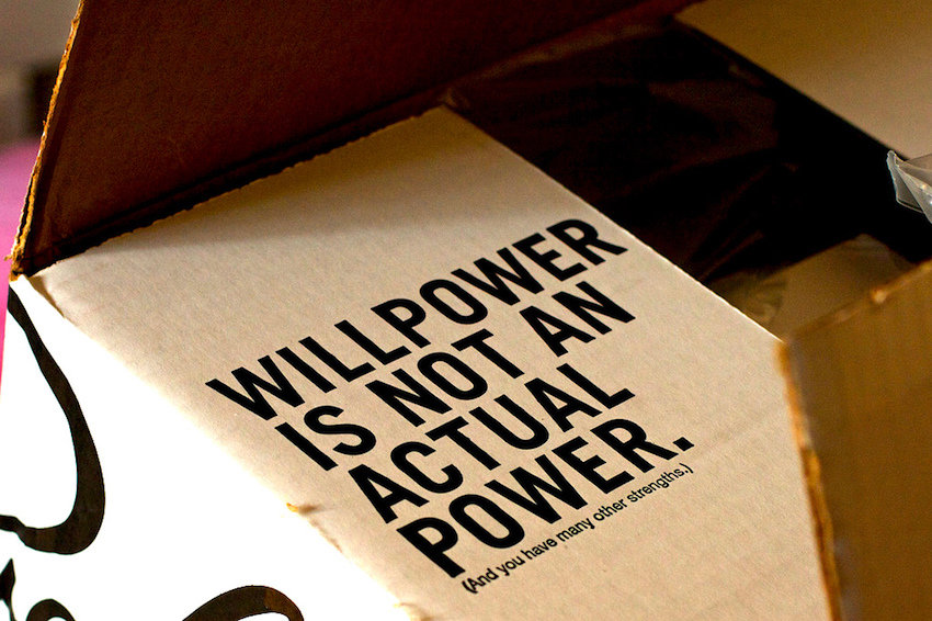 how to build willpower to lose weight